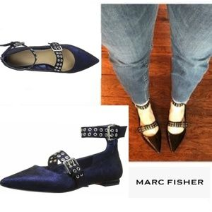 Edgy-Chic Marc Fisher Flats